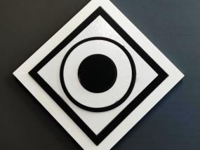 Série de carrés et de ronds