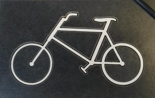 Vélo en carrelage